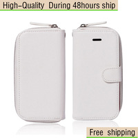 New Fashion 2 IN 1 Leather Case Cover + Wallet Bag For Apple iphone 5 5G 5th Free Shipping UPS DHL EMS HKPAM CPAM GAD-9