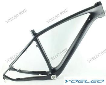 """12k Matte 29er Carbon Mountain Bike Frame Size 17.5"""" Headset 1-1/8""""-1-1/2"""" BSA Weight 1216g With EN Standard"""