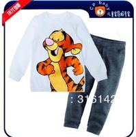 hot Pajamas suit Baby Sleepwear suits Shirts pants Kids long sleeve Underwears sets Boys' Girls' Toddler's Nightwear suit XC-085