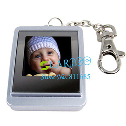 Hot LCD Digital Photo Frame Picture Keychain 1.5&quot; inch Free Shipping 1039(China (Mainland))