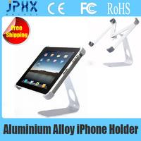 Free Shipping------------Aluminum M Shape 360 Degree Rotatable Holder Stand for iPad iPad2 /new iPad