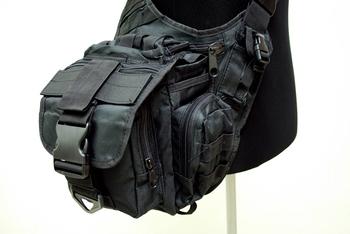 MOLLE Shoulder Bag Black SG-01-BK free ship