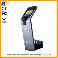 19' Resistive payment information kiosks