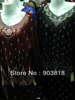 New style islamic clothing,wool-peach abaya,modest muslim clothing,arabic dress,arabic wear,islamic fashion abaya 12122508