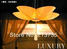 Free shipping Modern ocean series Fire retardant cloth lighting pendant light lamps for dining room