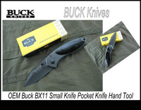 Free Shipping 14pcs/lot Hot Selling OEM BUCK X11 Outdoor Knife Fruit Knife Hand Tools KA0298