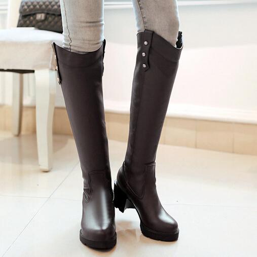 Popular NEW Womens Navy Blue Orthopaedic Velcro Envelope Boots