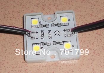 promotion!!! 5050 SMD COOL WHITE LED module,0.96W;DC12V;20pcs a string;IP67;6000-6500K