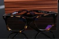 baroque style vintage myopia black framework plain glass spectacles eyeglasses frame vintage glasses male Women  81202 51202