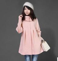 Fashion women's WOOL JACKET WOOLEN COAT winter overcoat plus large size