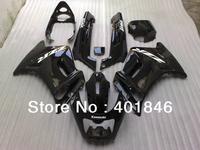 Cheap price for Australia,japan Race black fairing for KAWASAKI ZZR250 1990-2007 ZZR 250 90-07 bodywork motorcycle race fairings