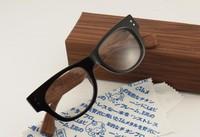 Wholesale vintage designer Optical Eyeglasses Sagawa Fujii handmade wooden glasses box men's eyeglasses,women's eyeglasses