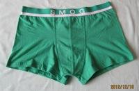 Free shipping Men's boxer shorts 3XL underwear U style XXXL 95%cotton 5pcs/lot mix -colors