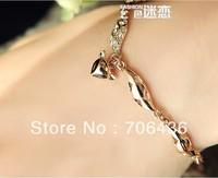 Wholesale small fox bracelet female Korean fashion lovely jewelry 1pcs