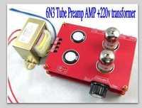 High quality Buffer 6N3 Tube Preamp AMP Matisse Kit +220v transformer