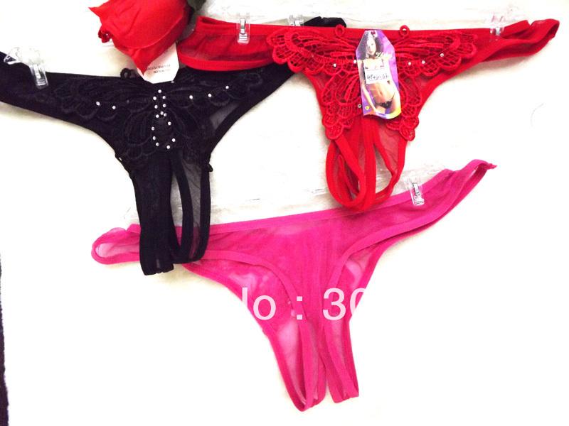 women crotchless thong ,panties