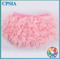 Posh Petti Lace Diaper Cover Baby Pink Lace Short for Cute Girls 20 colors 3sizes EMS free -24pcs/lot