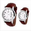 Personality casual calendar lovers watch fashion lovers table his and hers watches watch vintage table