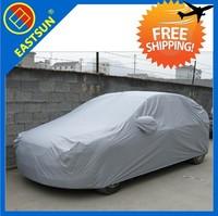 EASTSUN  Silver coated cloth rainproof  snowproof  sun block  S M L XL XXL AUTO vehicle car cover