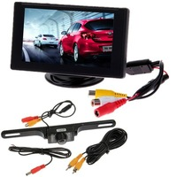 "4.3""TFT LCD Rear view Monitor + Night Vision Car Reverse Backup Camera"
