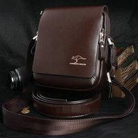 2013 Valentine Gift Free Shipping PU Leather Men Man Business Messenger Shoulder Bag Horizontal Style Bags 33*28*8 CM # FB-8005
