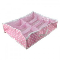 8Pairs Shoe Holder Bag Intake Under Bed/Closet Storage Box