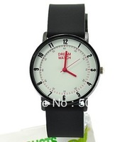 2013 CAITE  quality quartz analog dream watch,fashionable silicone quartz watch for gift free shipping