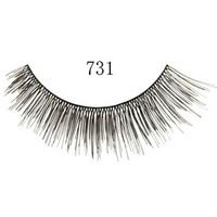 Free shipping 10 pairs handmade false eyelashes natural cross turbidness lips ultra long false eyelashes 731