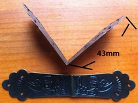New 4pcs box/ book corner protector guard desk edge cover Iron Decor M Hardware