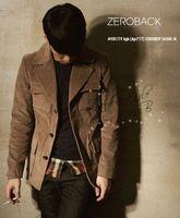 Corduroy vintage casual men's clothing suit jacket  Leisure suit jacket Warm Long-sleeved lapel Pocket Slim new freeshipping