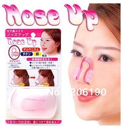Free shipping 50pcs/lot magic Nose up clip,Shaping Lifting Clipper/Beauty tool nose up clip(China (Mainland))