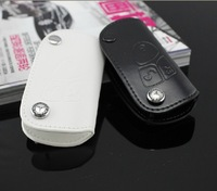 FREE POSTAGE 1pcs High quality leather Benz car key bag  DX31