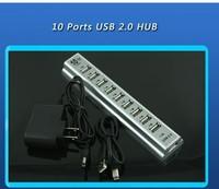 10 Ports USB 2.0 HUB High Speed AC Adapter SPC-0141