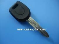 Mitsubishi transponder key blank with right blade no logo