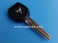 Mitsubishi key shell with right blade,car key fob case