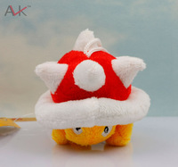 Wholesale New Super Mario Brothers Plush SpIny  Plush Mario 2 Inch Toy 10pcs/lot