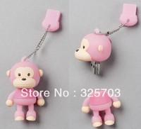"Pink ""Monkey"" USB Flash Memory Drive(Stick/Pen/Thumb)4..8. 16.32GB"