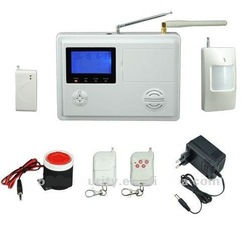 NEW Home Security Burglar Alarm GSM+PSTN Dual Network wireless burglar alarm(China (Mainland))