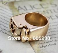 Wholesale 10 pieces / lot  Unisex Punk Gothic Lighter Ring