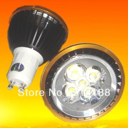 90% power saving 10pcs/lot new design 100% led chip warm white GU10 10W lights bulb lamp AC 85v-265v(China (Mainland))