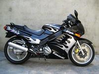 Cheap price for Australia,japan white flame black fairing kit for KAWASAKI 1990-2007 ZZ-R250 ZZR 250 90-07 moto racing bodykits