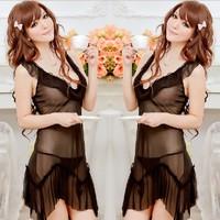 Сексуальная ночная сорочка bowtie W1360