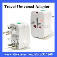 4pcs Travel Universal Adapter Charger,AC Power Adapter Converter AU/UK/US/EU Plug  Free Shipping  Wholesale & Retail  -- DL62