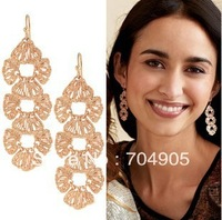 Nice Jewelry European Pop GWNEVE LINEAR DROP Earrings Star New Min.order is $10 (mix order)   EP-0253