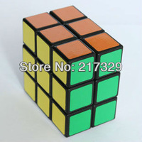 Black 2X3X3 Speed Magic Cube Head Puzzle Super Mental Toy Mind Game Gift Entertaiment Tool So Funny to Turn. fast free ship