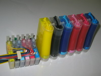 Free  shipping DHL/UPS/FEDEX:  photo 1500W sublimation ink  CISS  for Epson Photo 1500 etc,For T0791-T0796 carts