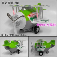 Plain WARRIOR volplane machine spiral two wings alloy model green