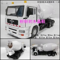 Engineering car gift box set cars man large cement mixer truck alloy car models toy gift box