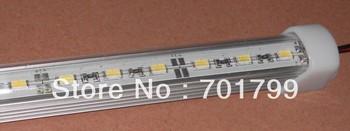 1m long 5630 led rigid bar light;U type,with PC cover;DC12V input;60leds per meter;30W