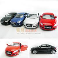 soft world AUDI tt WARRIOR car alloy car model toy